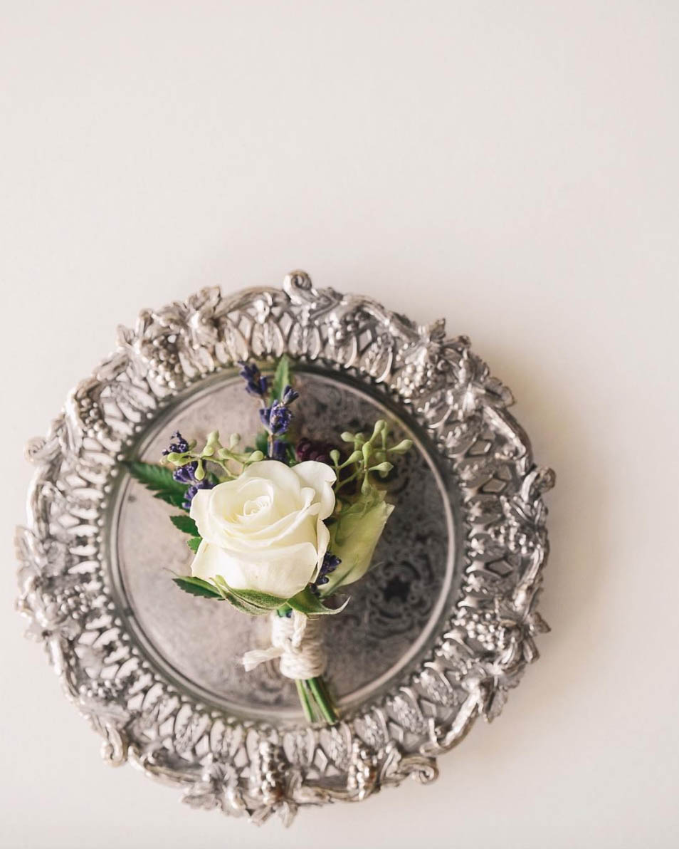 Boutonniere with Lavender