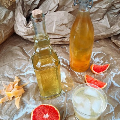 Grapefruit Limoncello (Grapefruit-cello)