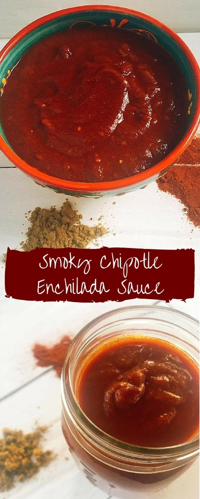 Smoky Chipotle Enchilada Sauce | Three Olives Branch