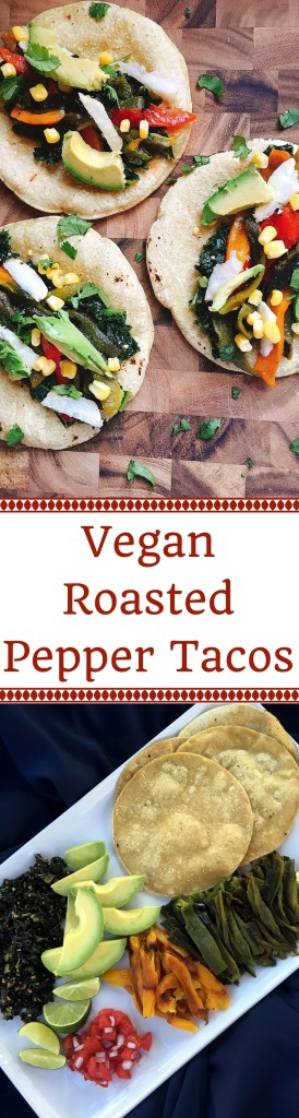 Vegan Roasted Pepper Tacos | Three Olives Branch