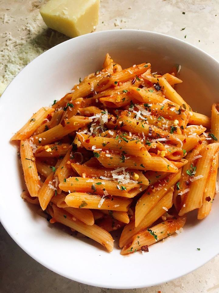 Arrabbiata Pasta - Top 10 Recipes of 2018 from Three Olives Branch