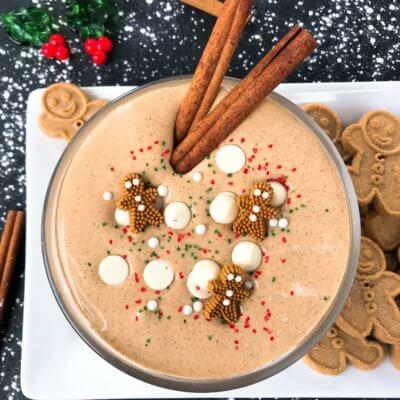 Gingerbread Cream Cheese Dip