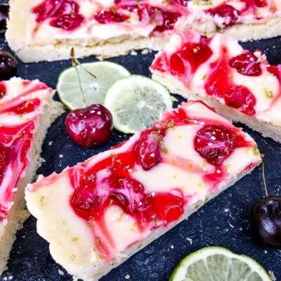 Cherry Limeade Tart