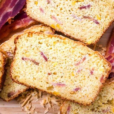 Cheddar Cheese Bacon Cornbread