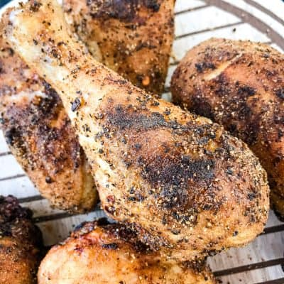 Three Pepper Dry Rub for Chicken Drumsticks (Grilled)