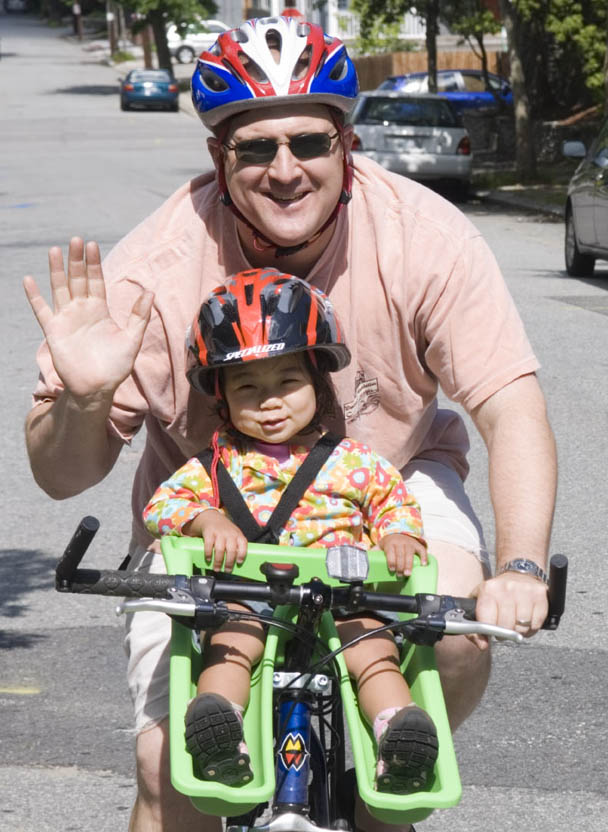 Biking with Li Li