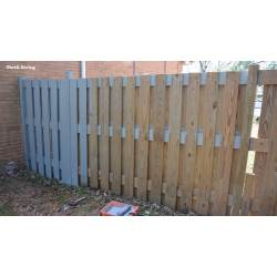 Preferential Paint A Fence How To Make Hanging Garden Fence Cedar Planter Making Progress Garden Fence Hanging Baskets Garden Fence Hanging Planters