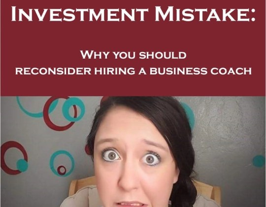 Investing in a business coach isn't always a mistake, but if you're not careful, you'll waste your money like I did. Make money blogging, make money online, learn to blog
