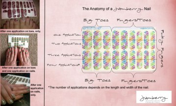number of applications 300x181 Enter to #Win the Jamberry Nail Shields #Giveaway