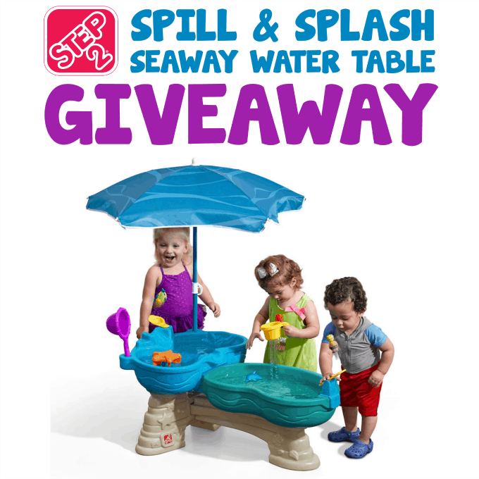 Spill & Splash Seaway Water Table Giveaway