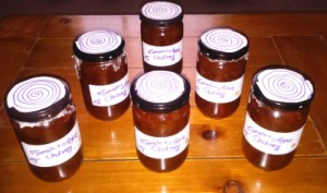 DIY gift ideas christmas chutney yummy tomato apple diy home made gift gifts thrifty sustainability making relish