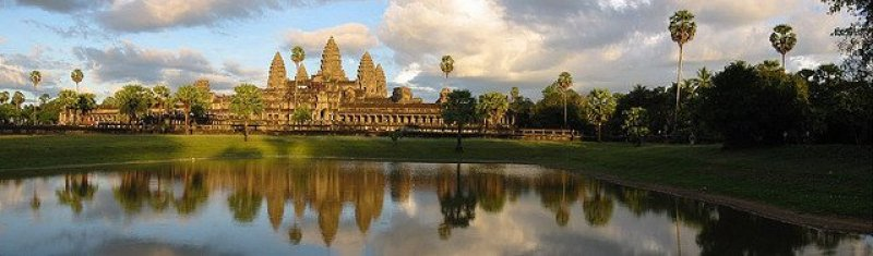 Angkor Wat                                                                               Image Credits: Chris under CC by SA 2.0