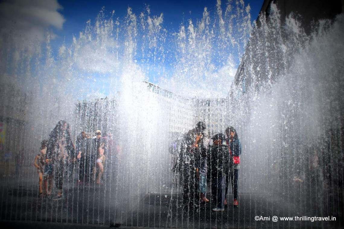 Fountain Maze