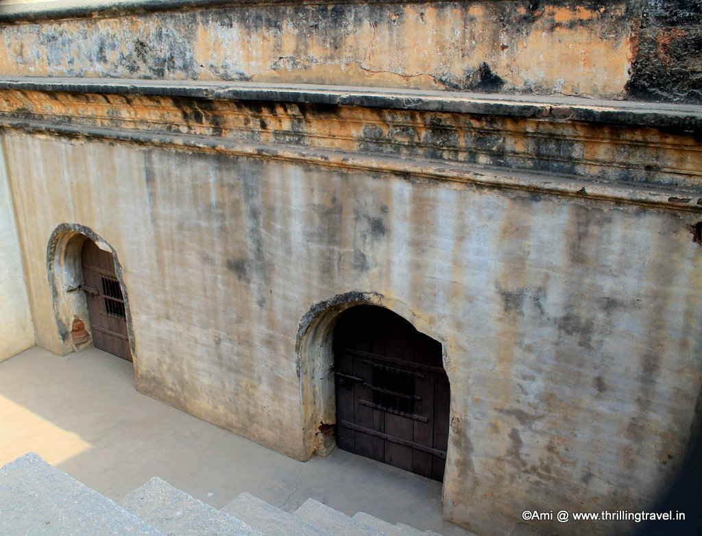 The Dungeon area of the Bangalore Fort, Bengaluru