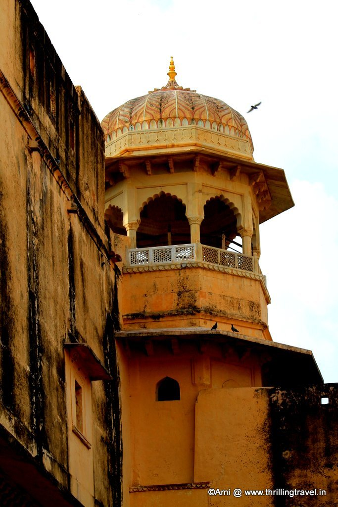 Watchtower at Amer Fort