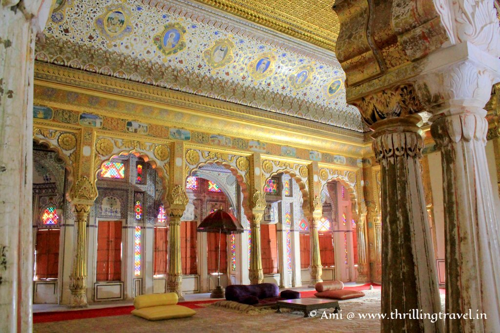 Phool Mahal at Mehrangarh Fort