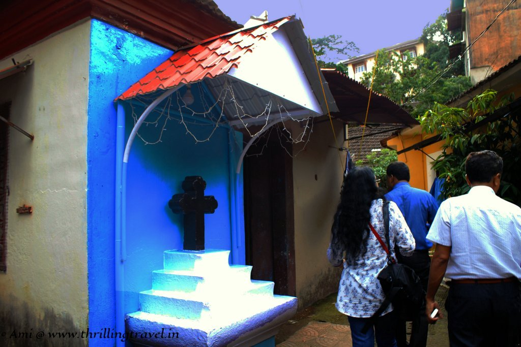A Christian Home in Fontainhas, Panjim