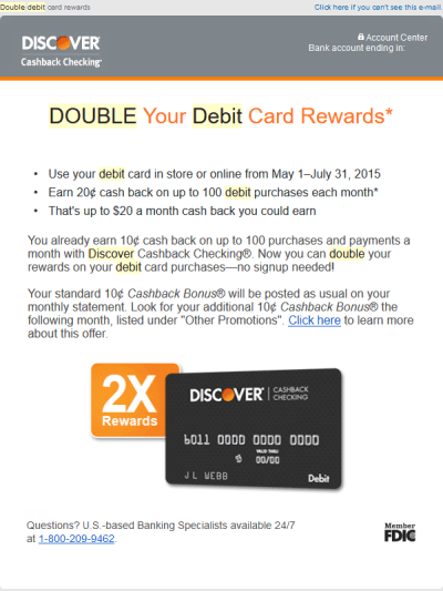 Discover Card and the Amusing Irony of My Situation with Amazon.com, Inc. | Richard Thripp's Website