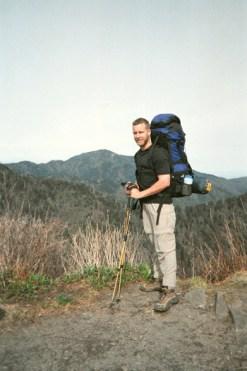 Daniel on the Appalachian Trail