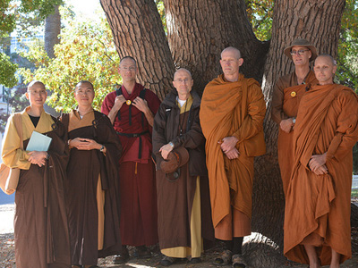 Group of monastics at the 2013 WBMG.