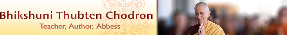Bhikshuni Thubten Chodron