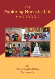 Cover of Exploring Monastic Life Handbook. Click to download.