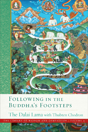 Book cover of Following in the Buddha's Footsteps