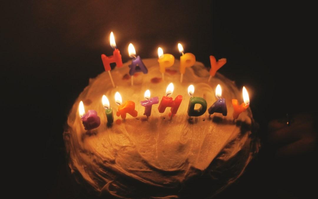De cumpleaños