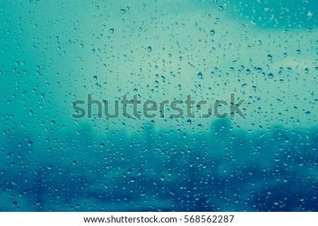 City Window Texture Rain Drops Water Of On In Design Ideas