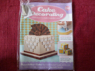 Cake decorating magazines   Zeppy io Deagostini cake decorating magazine   138 new with free gift