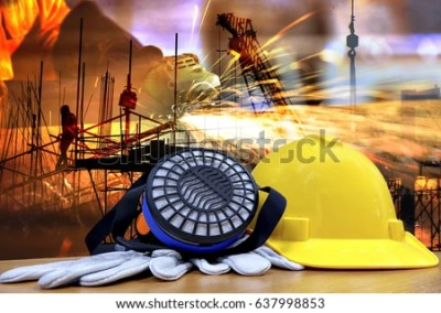 Standard Construction Safety Construction Site Background Stock Photo 531246328 - Shutterstock
