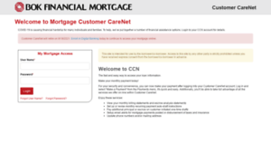 Mobank.mortgageccn.com: Welcome to our online mortgage payment website.