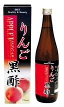 ★【送料無料】 りんご黒酢 720ml×12本入り (1ケース)  【正規品】
