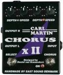 【送料無料】CARL MARTIN《カールマーチン》 CHORUS X II エフェクター(コーラス)