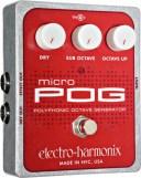 【レビューを書いて次回送料無料クーポンGET】Electro-Harmonix Micro POG 国内用電源アダプター付属 エフェクター [並行輸入品][直輸..