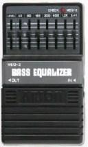 ARION MEQ-2 BASS EQUALIZER 《エフェクター/ベース用イコライザー》