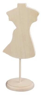 白木の木製ミニトルソー♪ワンピース