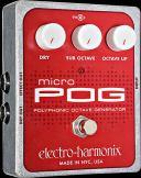 electro-harmonix Micro POG ポリフォニック・オクターブ・ジェネレーター【smtb-ms】【RCP】【zn】