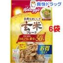 ケロッグ 玄米フレーク 徳用(400g*6コセット)【玄米フレーク】【送料無料】