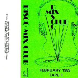 DMC - February 1983. Tape 1.
