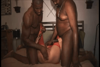 a pretty blowjob blonde bends over to take a rough dick up her b