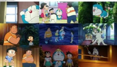 Doraemon: New Nobita's Great Demon-Peko and the Exploration Party of Five (2014) BluRay 720p 800MB Ganool
