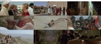 movie screenshot of The Jewel of the Nile 1985