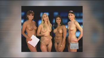 naked news christine kerr