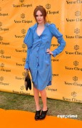 eb995589260266 Karen Gillan attends the Veuve Clicquot Gold Cup  Final in Midhurst, UK, Jul 18, 2010