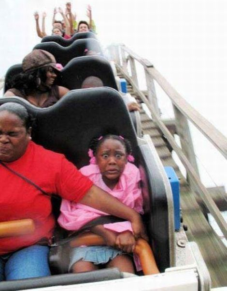 People From Roller Coasters ThumbPress 01 Winners and Losers from Roller Coasters (62 Pics)