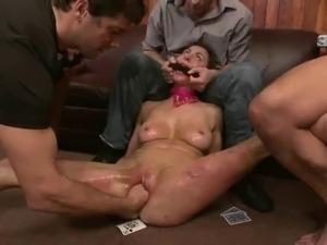 sex slave brutaly forced gangbang