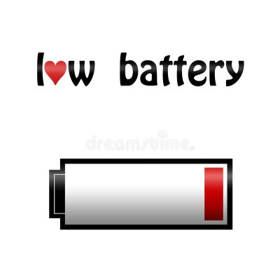 Love Battey Illustration Concept Stock Illustration - Image: 8949874