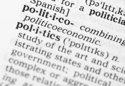 Macro Image Of Dictionary Definition Of Politics Stock Photo - Image: 32539170