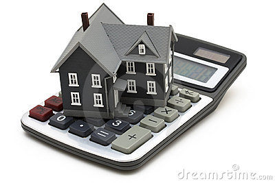 Mortgage Calculator Royalty Free Stock Photos - Image: 4519848
